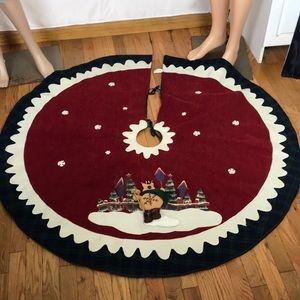 Vintage Collector's Choice Christmas Tree Skirt